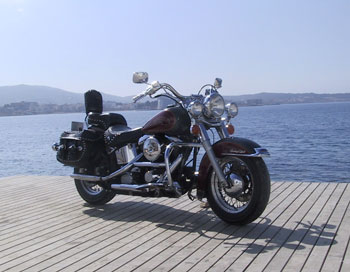 US Motos Ibiza Rental Bike Motor